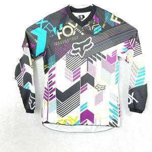 Fox Racing Motocross Long Sleeve Shirt Size S